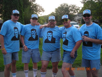Team Stache Fishing 2009 T-Shirt Photo