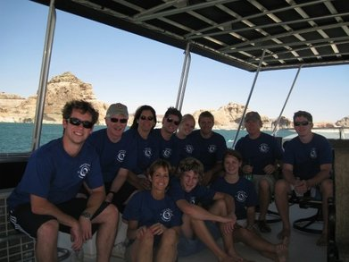 Lake Powell Houseboat Adventure T-Shirt Photo