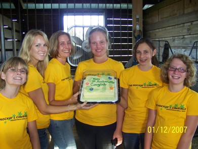 Happy Anniversary Cowgirls T-Shirt Photo