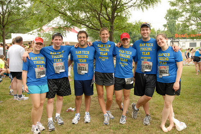 Hamilton College Yogging Team T-Shirt Photo