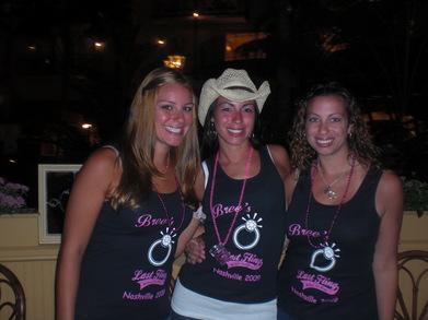 Bree's Nashville Bachelorette Party Jersey Style T-Shirt Photo