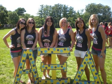 Iowa   Alpha Xi Delta   Bid Day T-Shirt Photo