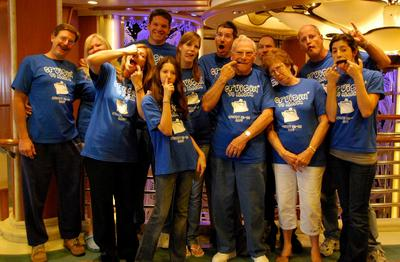 All Aboard For Poppy Pete's 80th! T-Shirt Photo