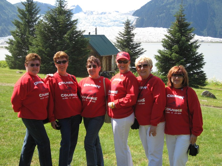 Cruzin' Cousins Cruising Alaska T-Shirt Photo