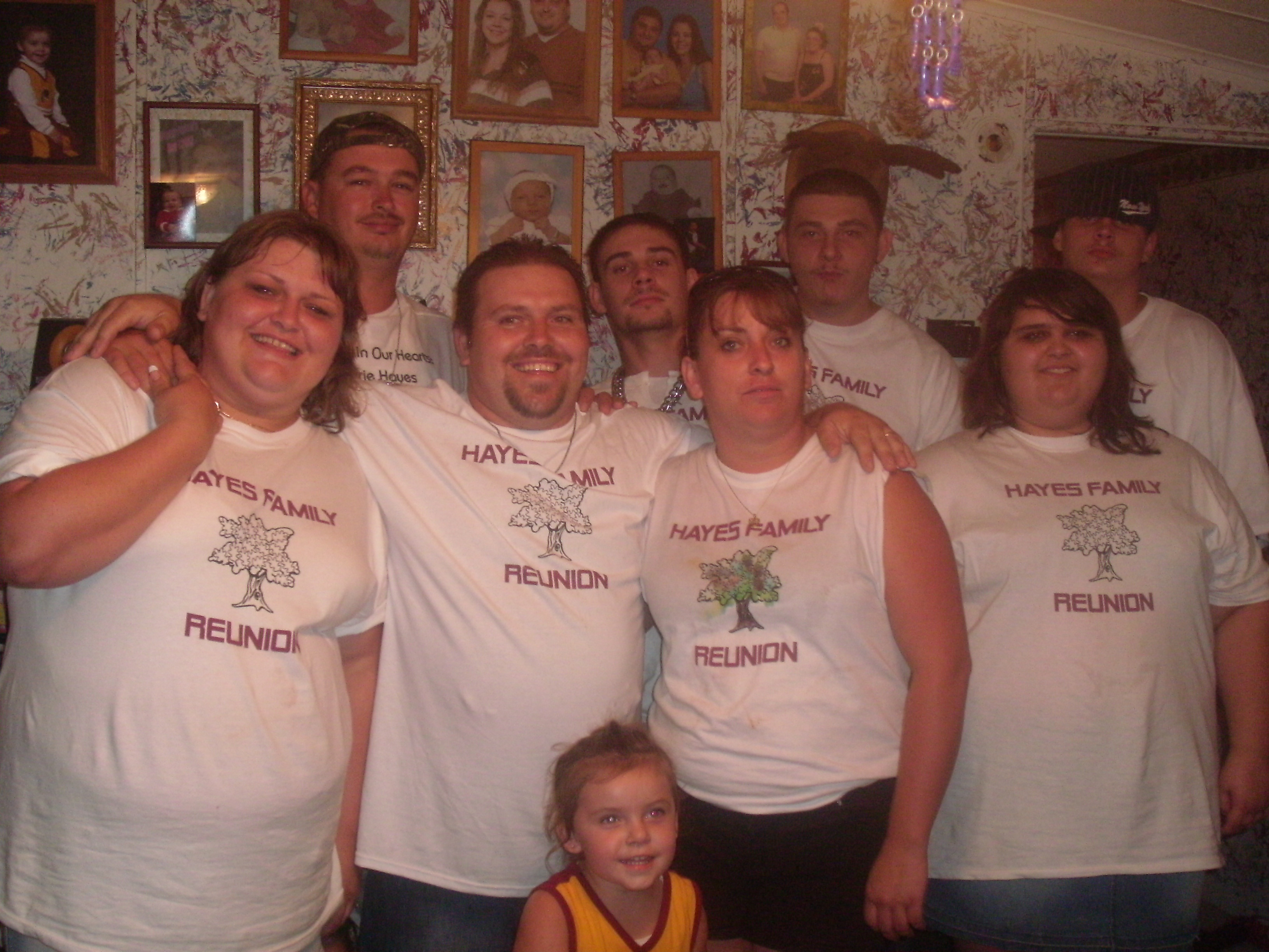 Design your own t-shirt for family reunion - Hayes Family Reunion T Shirt Photo