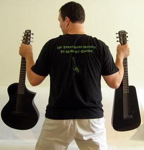 Carbon Fiber Guitars T-Shirt Photo