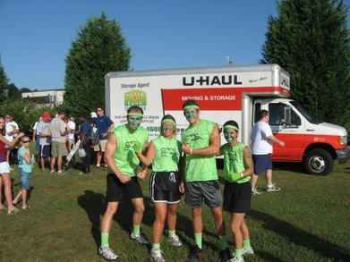 Team Gang Green At Mud Warfare 8 K T-Shirt Photo