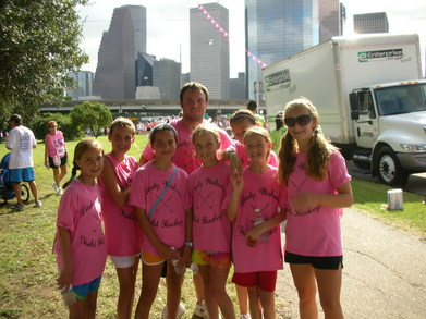 Field Hockey Races For The Cure T-Shirt Photo