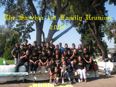 The Sanchez 1st Family Reunion (2009) T-Shirt Photo