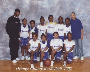 Orange County Jr Wnba Girls T-Shirt Photo