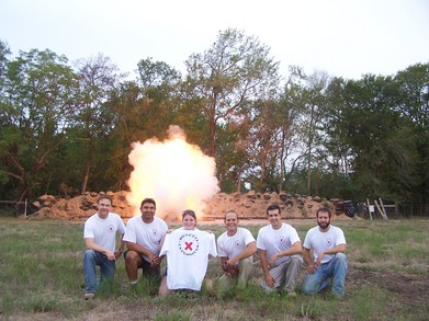Blasting Buddies T-Shirt Photo