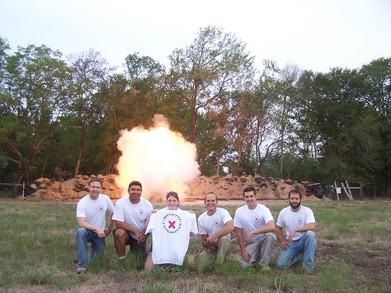 Blasting Buddies T-Shirt Photo