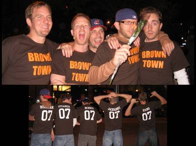 Canadians In Cleveland T-Shirt Photo
