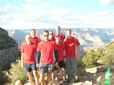Grand Canyon Rim To Rim To Rim T-Shirt Photo