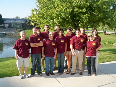 Fall 09 Orientation Leaders T-Shirt Photo