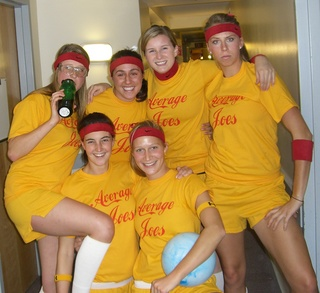 Average Joe's Dodgeball Team T-Shirt Photo