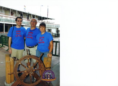 New Orleans Boat Trip T-Shirt Photo