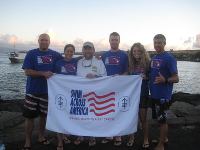 Team Swim Across America T-Shirt Photo