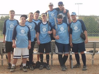 Blue Ballers Softball T-Shirt Photo