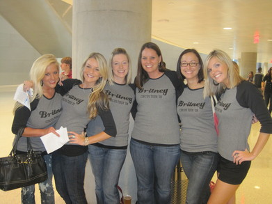 Britney Comes To Tulsa T-Shirt Photo