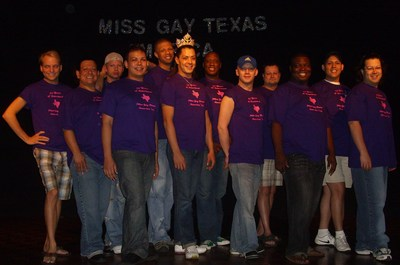 Miss Gay Texas And The Contestants T-Shirt Photo