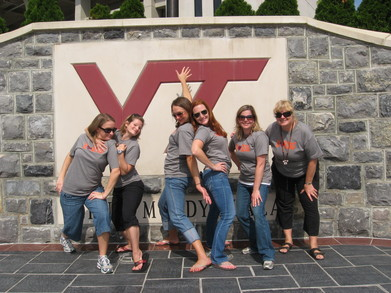 Hokie Love!!! T-Shirt Photo
