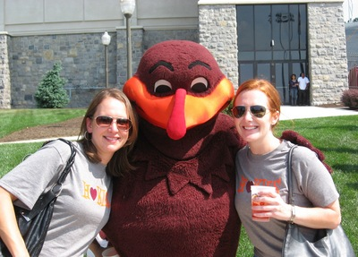 Even The Hokie Bird Loved Our Shirts :) T-Shirt Photo