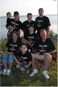 Team Chris   Redman Triathlon 2009 T-Shirt Photo