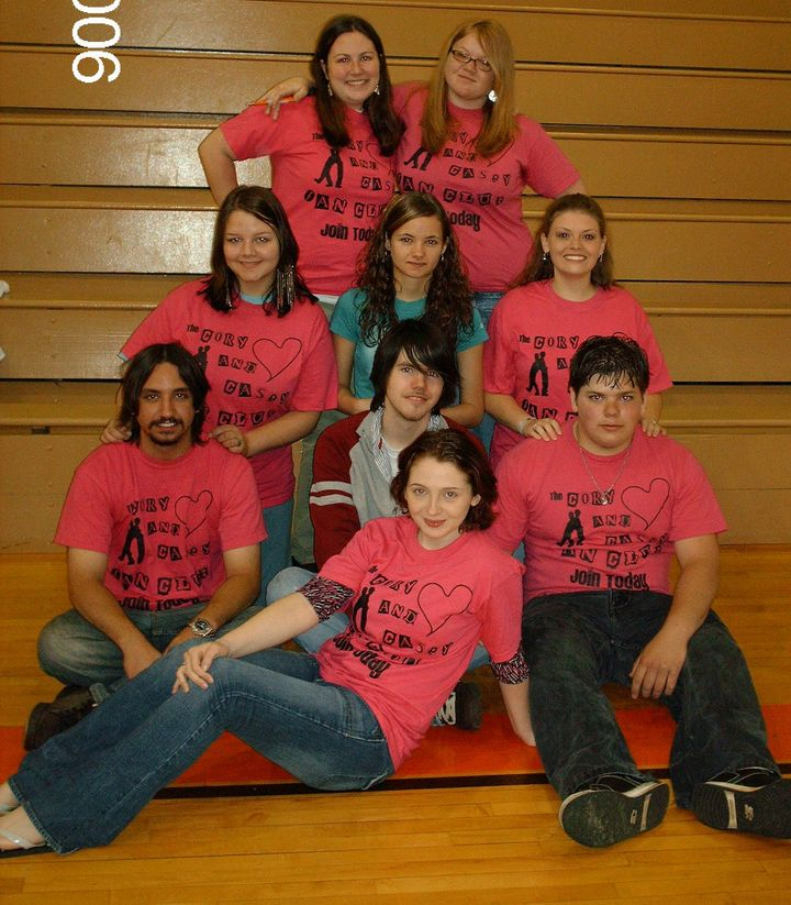 The Cory And Casey Fan Club T-Shirt Photo