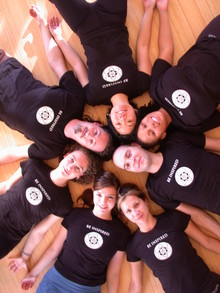 Inspired Yogis Wearing Custom Ink T Shirts! T-Shirt Photo