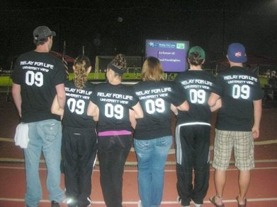 University View's Relay For Life T-Shirt Photo