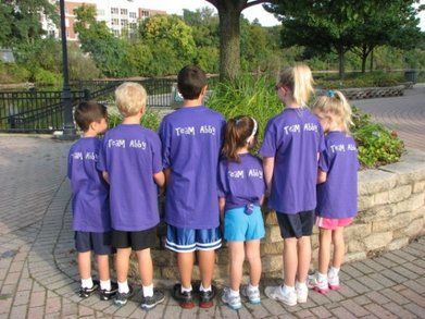 The Kids From Team Abby T-Shirt Photo