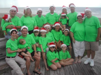 Christmas In August T-Shirt Photo