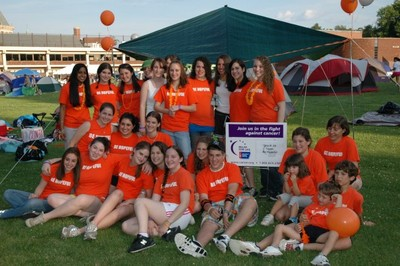 Be Hopeful Makes A Team @ Relay For Life! T-Shirt Photo