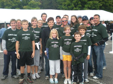 Lulu's Leapers Team For Livie Anderson T-Shirt Photo