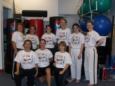 Black Belt Ladies T-Shirt Photo