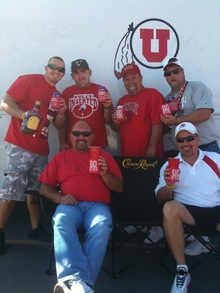 Milk Truck Crew With Koozies T-Shirt Photo