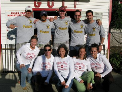 4th Annual Tiger Posse Cape Cod Roundup T-Shirt Photo