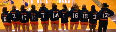 Volleyballers T-Shirt Photo