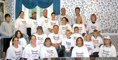 Team Hansen After A Rainy Walk T-Shirt Photo