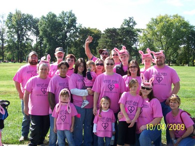 Kay Lee's Friends Walk To Support Jdrf T-Shirt Photo