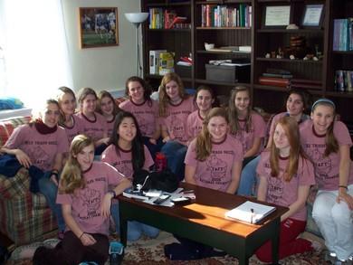 Girls Thirds Soccer T-Shirt Photo