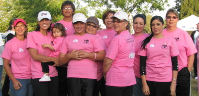 Central Valley Making Strides Against Breast Cancer T-Shirt Photo