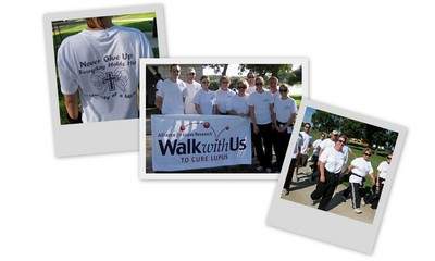 Walking For Lupus! T-Shirt Photo