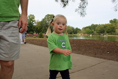 Avery At The Charlotte Buddy Walk T-Shirt Photo