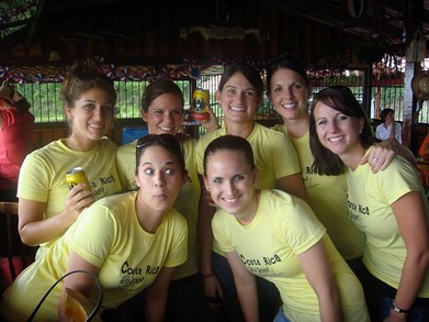 Costa Rica Gals!!!! T-Shirt Photo