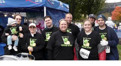 Techies For Ta Tas Races For The Cure, Maryland 2009 T-Shirt Photo