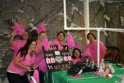 Team Pink...Touchdown For A Cure! T-Shirt Photo