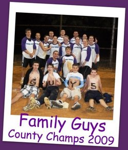 Calvert County 2009 C League Champs T-Shirt Photo