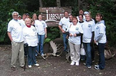 Vacationing In Liarsville, Alaska T-Shirt Photo
